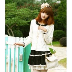 短裙 2552 黑日韩女装批发代理 日系女装一件代发