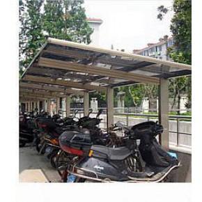 自行车棚雨棚 钢结构膜 低合金高强度结构钢