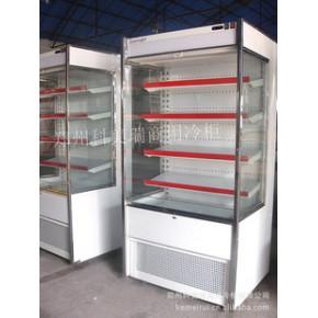 白色款独立式风幕柜 保鲜机