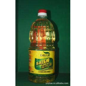 七彩云香一级冷榨纯菜籽油 2.5L 非转基因 非调和 纯香营养好油