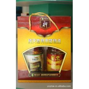 源天生物纯天然植物油 1.8L核桃油菜籽油礼盒