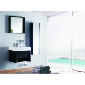 外贸出口浴室柜、人造石台盆浴室柜 RL-7701