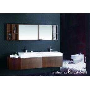 外贸出口浴室柜、人造石台盆浴室柜 RL-7703