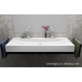 外贸出口浴室柜、人造石台盆浴室柜  KN-7610