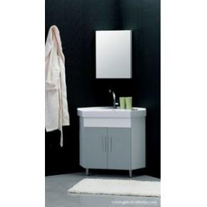 陶瓷盆浴室柜、多层板防水浴室柜  LY890