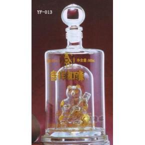 河北工艺玻璃酒瓶制作,河北工艺玻璃酒瓶制作厂家---亿福隆盛