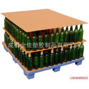 金佳中空板为玻璃制品厂提供垫板