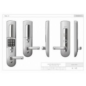 智能射频锁-密码锁 有机械钥匙