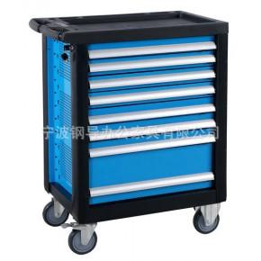 【专业品质】供应蓝色GBM701 中型8抽工具车