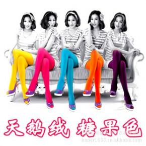 女装春季 超级显瘦 百搭好质量天鹅绒连裤袜 打底袜1200D批发