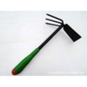 塑胶手柄 园林铲 两用锄 锄头 养花工具 永康园林工具