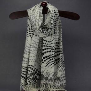 新款羊毛印花围巾披肩精纺 男女款 原单尾货批发 承接围巾订单