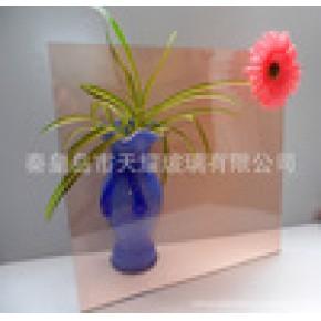优质4-12mm粉色浮法玻璃原片