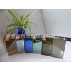 大量销售3-19mm优质钢化浮法彩色镀膜玻璃