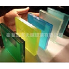 优质钢化彩色安全夹胶玻璃