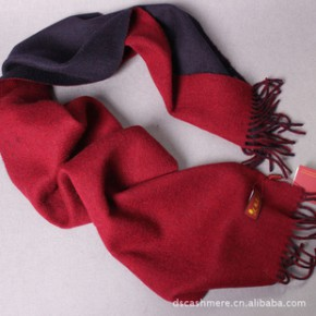 新款 丝光处理绵羊绒水纹围巾 品牌围巾定制 精品围巾设计订单