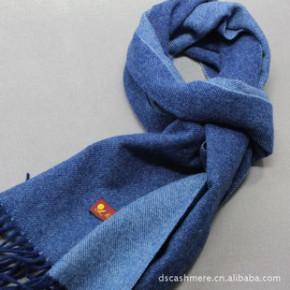 男士围巾 100%特级绵羊绒 承接礼品围巾订单 原单尾货批发