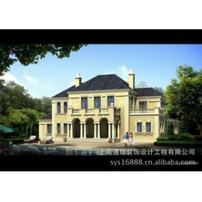 别墅建筑设计 效果图制作