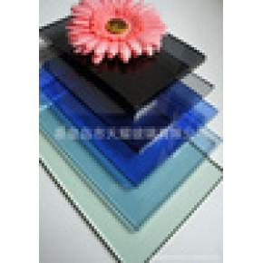 优质3-19mm 深加工建筑 钢化 彩色浮法玻璃