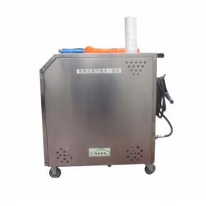 高压清洗机冷热水清洗机冬天美容店热水洗车机微水蒸汽移动洗车机