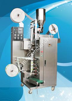 DXDCH-10B型 内外袋挂线挂签袋泡茶包装机
