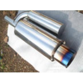 排气管 改装直排G鼓 外回压 总长590mm