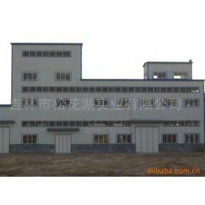 设计制作安装轻钢结构厂房库房网架工程轻钢彩瓦