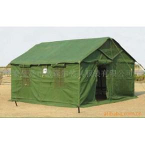 【军品帐篷】84A草绿棉帐篷(带12张床)