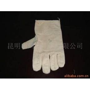 加厚纯棉帆布手套 普通劳保手套
