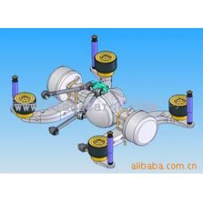 客车用后空气悬架系统 RIDESTAR