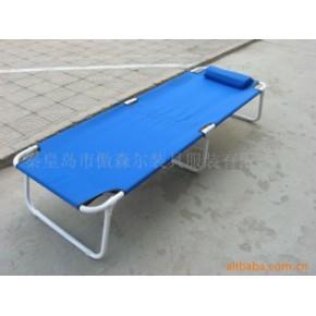单人折叠床(带枕头,带pvc板)