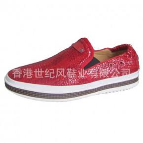 休闲鞋厂家—供应男士真皮低帮时尚休闲鞋