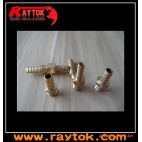 空气管铜接头,气动铜接头———用于不同规格气管