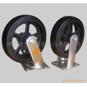 橡胶轮脚轮 8*2 200*50