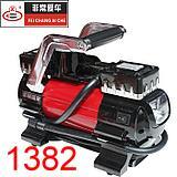 车载充气泵 非常爱车 1382 大功率汽车轮胎双缸充气泵