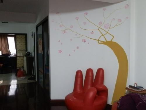 芜湖百蕊山庄墙绘工程