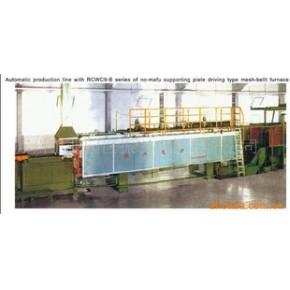 RCWC-9系列托板传动无马弗网带炉
