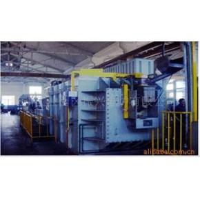 RG系列滚筒式电阻网带炉生产线