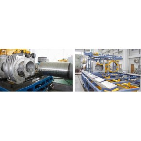 SBG1000 UPVC双壁波纹管生产线