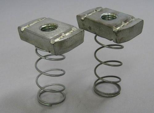 天虹牌槽管支吊挂产品-弹簧螺母