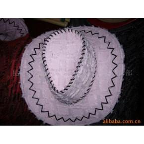 牛仔帽 曼娜朵 多种 特殊布料