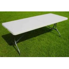 183CM塑料折叠桌椅 塑料