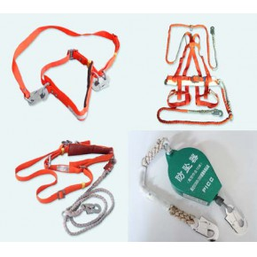 速差式单腰安全带,五点式安全带,全身式安全带