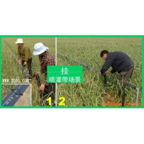 寿光信农节水灌溉工具喷灌微喷/微灌/喷水带架空安装实体图(五)