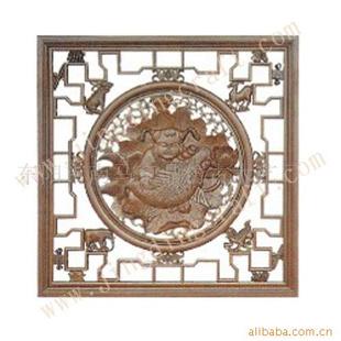 东阳木雕,挂件,花格木雕制品 东阳木雕