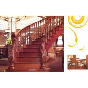 上海松江楼梯,松江别墅楼梯,豪华别墅楼梯,松江楼梯踏板