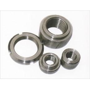 304不锈钢圆螺母