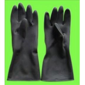 耐酸碱工业乳胶手套 蓝盾