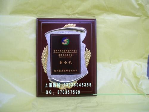 上海铜牌设计制作 生产奖牌金授权牌 水晶奖杯奖牌 胸章定订 做制作