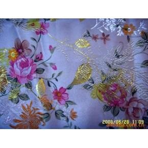 印花织锦缎 锦缎 唐装 包装 装饰 提花